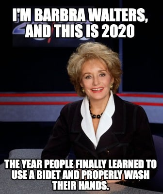 im-barbra-walters-and-this-is-2020-the-year-people-finally-learned-to-use-a-bide