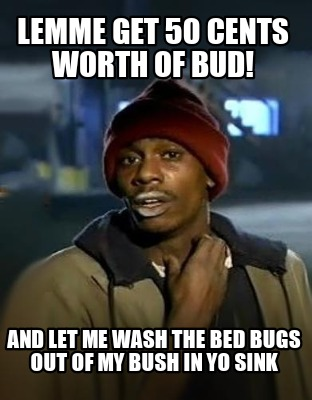 lemme-get-50-cents-worth-of-bud-and-let-me-wash-the-bed-bugs-out-of-my-bush-in-y