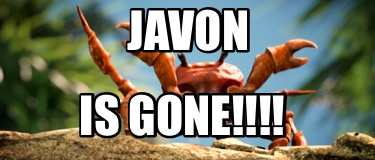 javon-is-gone