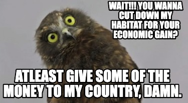 wait-you-wanna-cut-down-my-habitat-for-your-economic-gain-atleast-give-some-of-t