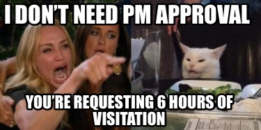 i-dont-need-pm-approval-youre-requesting-6-hours-of-visitation