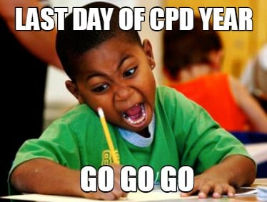 last-day-of-cpd-year-go-go-go