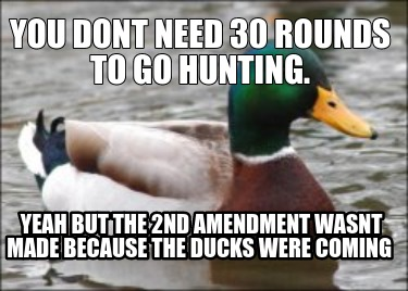 you-dont-need-30-rounds-to-go-hunting.-yeah-but-the-2nd-amendment-wasnt-made-bec