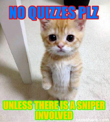 no-quizzes-plz-unless-there-is-a-sniper-involved