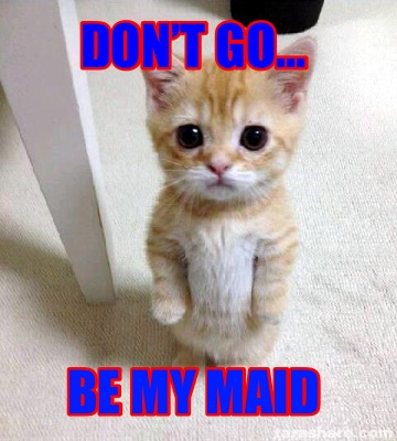 dont-go...-be-my-maid