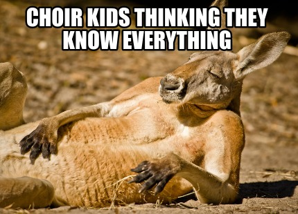 choir-kids-thinking-they-know-everything