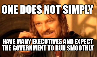 one-does-not-simply-have-many-executives-and-expect-the-government-to-run-smooth