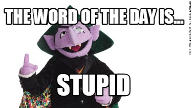 the-word-of-the-day-is...-stupid
