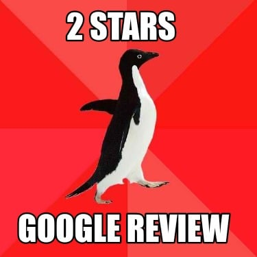 2-stars-google-review