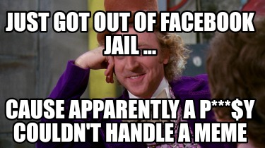 just-got-out-of-facebook-jail-...-cause-apparently-a-py-couldnt-handle-a-meme