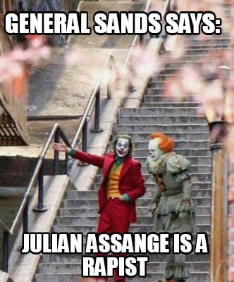 general-sands-says-julian-assange-is-a-rapist