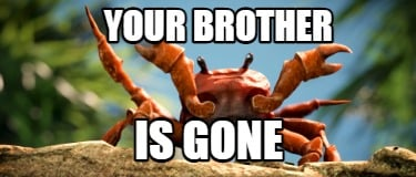 your-brother-is-gone