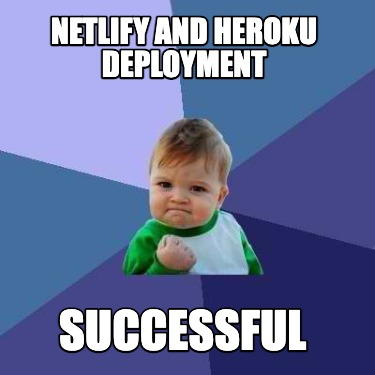 netlify-and-heroku-deployment-successful