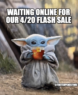 waiting-online-for-our-420-flash-sale-theterpenestore