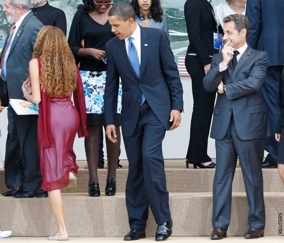 Obama Y Sarkozy Meme Generator At