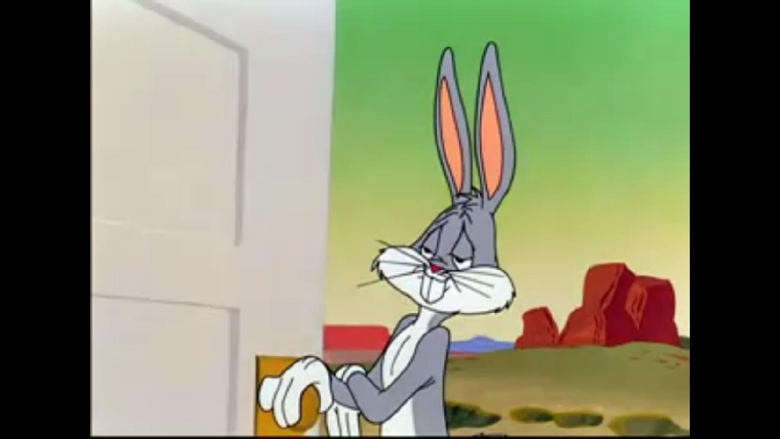 No Bugs Bunny Meme Template