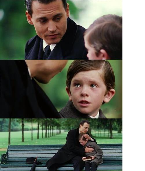 Johnny Depp Meme With Kid